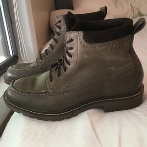 Cole Haan Leather Grand OS Boots